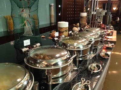 Chicken and Beef Dishes at Petals Restaurant, rose Rayhaan Rotana