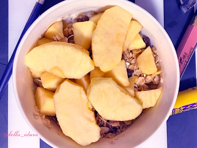 resepi oat epal