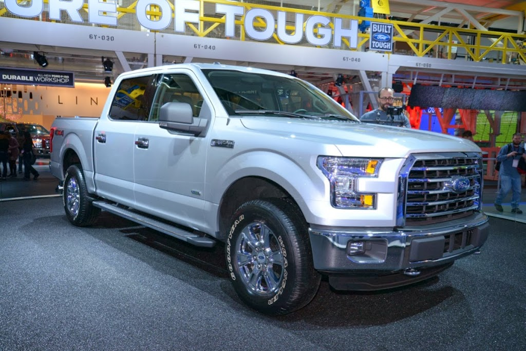 2015 Ford F-150 Unveiling NAIAS 17