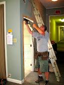 Kym Gardner is a demolition expert.