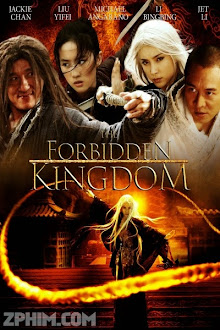 Vua Kungfu - The Forbidden Kingdom (2008) Poster