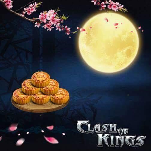 Strateji Oyunu Clash of Kings'de Dolunay Festivali