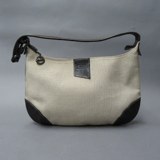 Longchamp Canvas Shoulder Bag