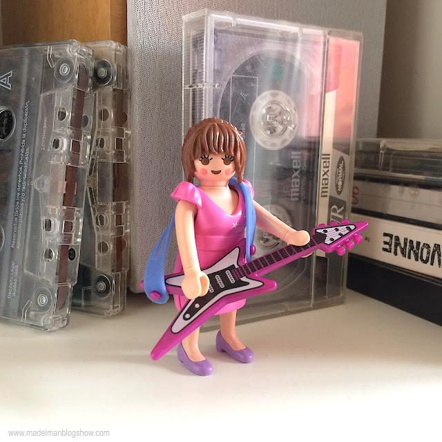 Playmobil Lady Cassette