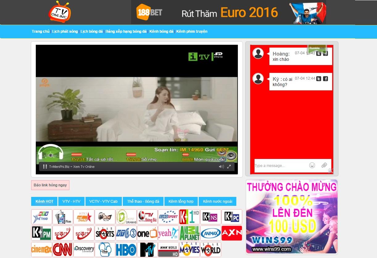 Viet-X TV | Xem tivi onlineline