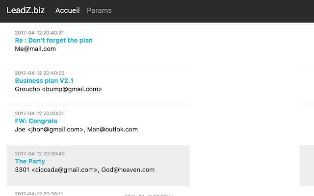 Email Tracker www.LeadZ.biz