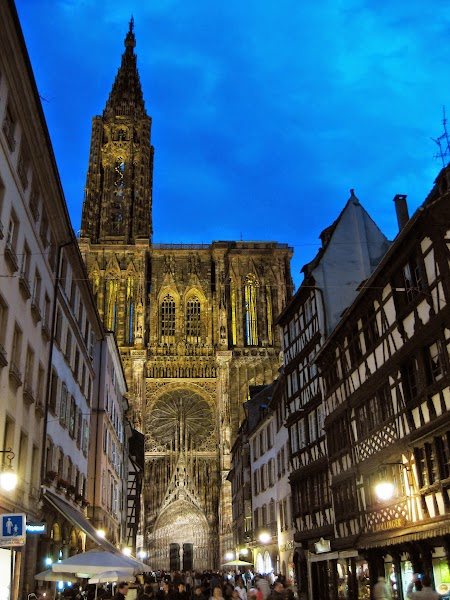 das Münster am Abend