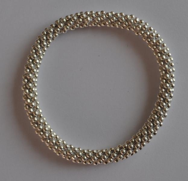 Sterling Silver Bead Bracelets
