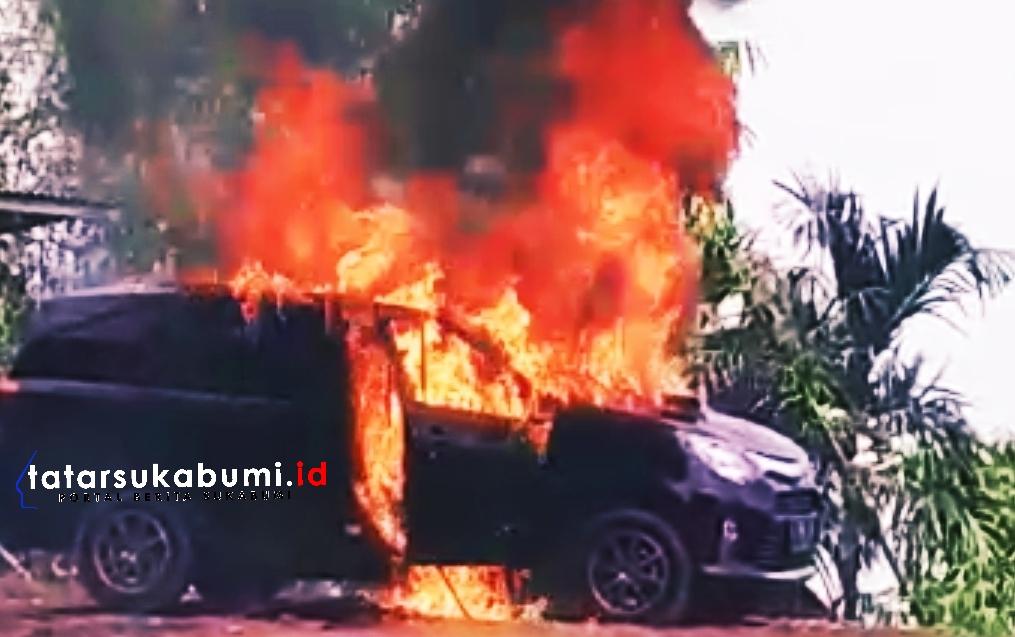 Polisi Dalami Kasus 2 Mayat dan Mobil Terbakar di Cidahu Sukabumi