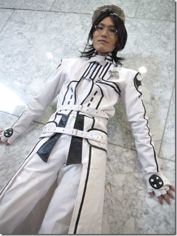 d. gray-man cosplay - komui lee by hyuri