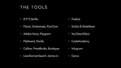 Tools for bloggers.