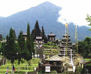 Mount Agung Indonesia Mountain at Bali