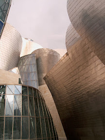 Entrance to the Museo Guggenheim, Bilbao