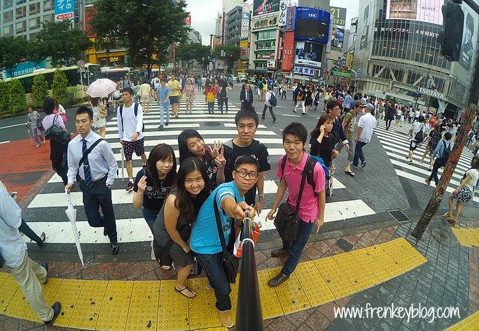 WeFie Seru di Shibuya Crossing - Tokyo
