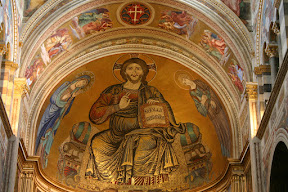 Christ in Majesty, apse mosaic, Duomo, Pisa