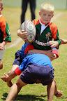 Foto Marius NortjeDie jong Graad R leerlinge van Laerskool Rustenburg het hulle rugby talente op die veld ten toon gestel tydens die @Lantic Kampioen van Kampioene toernooi.