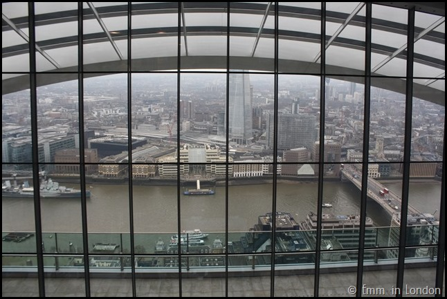 The Thames from the Sky Garden