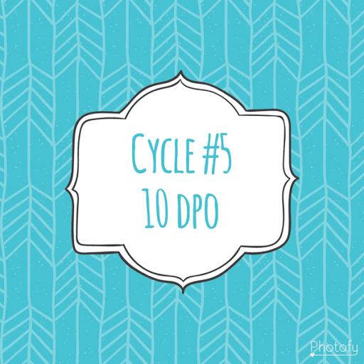Cycle #5 ~ 10 dpo