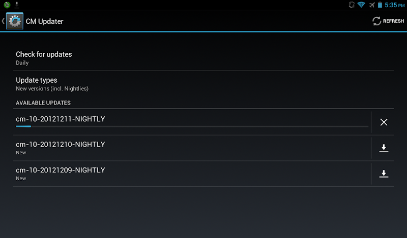 CM CyanogenMod Updates