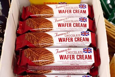 おすすめ商品:ターノック チョコレート ワイファークリーム(Tunnock's CHOCOLATE WAFER CREAM/タンノック チョコレート ウエハース)