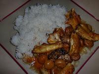 Poulet à la mahoraise - recette indexée dans les Viandes