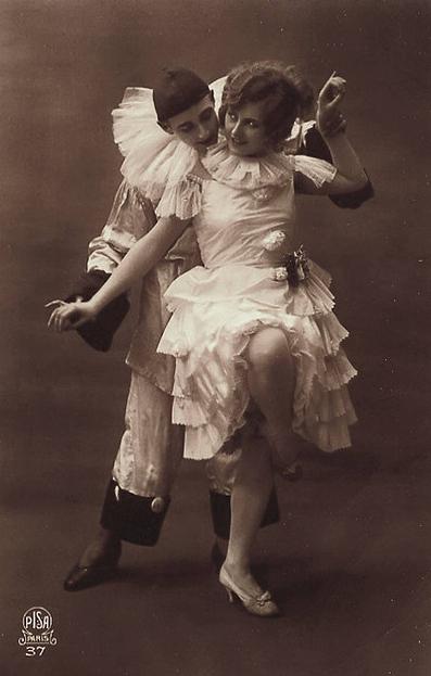 vintage danse pierrot