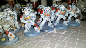 Grey Hunters with new pack markings