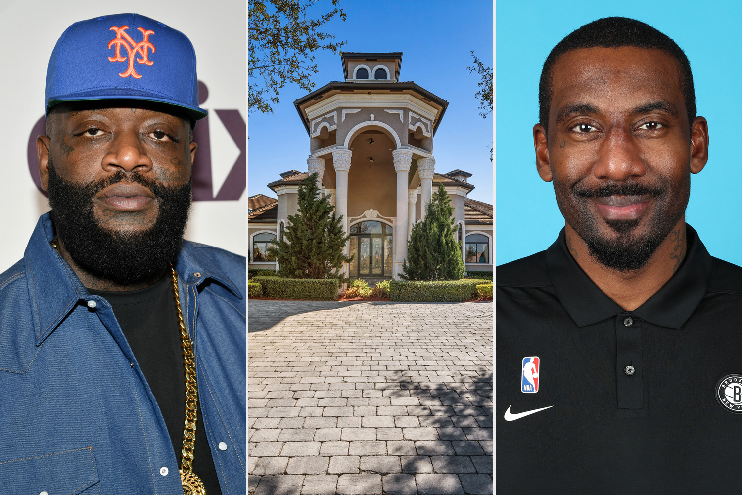See inside Rick Ross' newly purchased Florida mansion which he bought from ex-NBA star Amar'e Stoudemire for $3.5 Million (photos)
