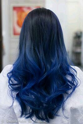 Blue Hairstyles For long Hair-It Is Different 2017 14