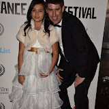 OIC - ENTSIMAGES.COM - Alexandra Newick and Robert Osman at the  My Hero Film Premiere at Raindance Film Festival London 25th September 2015 Photo Mobis Photos/OIC 0203 174 1069