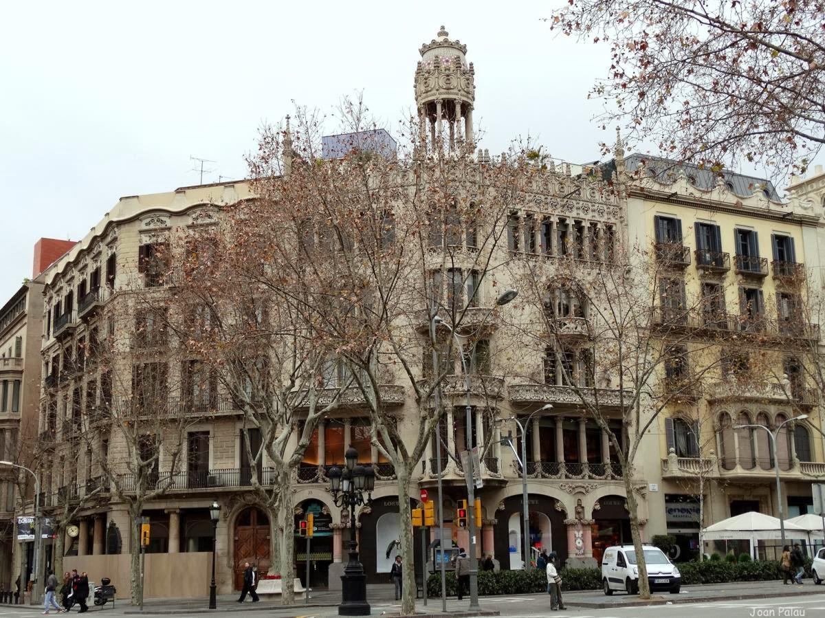 Casa lle morera barcelona modernista i singular - Casa modernista barcelona ...