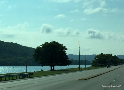 Following the Ohio River