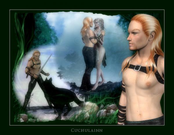 Cuchulainn Star, Celtic And Druids