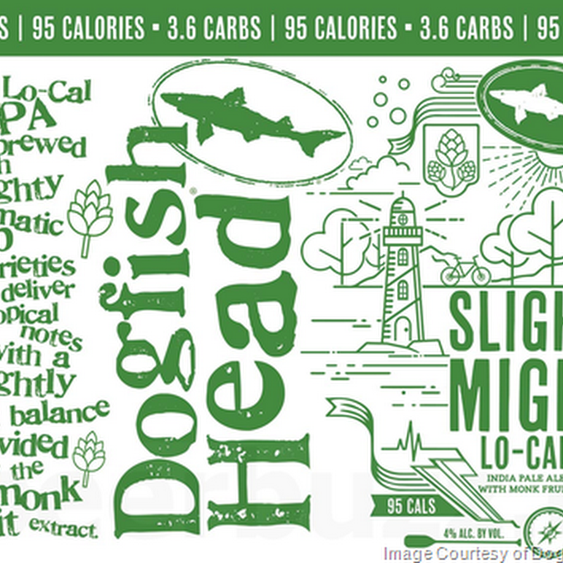 Dogfish Head Adding Slightly Mighty Lo-Cal IPA Cans
