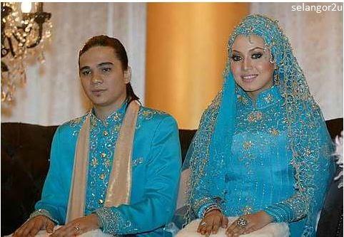 Gambar kahwin Bienda dan Kamarul Zariman Media Prima
