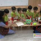 Healthy Bhel Day Celebrated by Playgroup Afternoon Section at Witty World, Chikoowadi (2017-18)