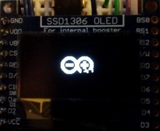 Corrupt bitmap output on SSD1306