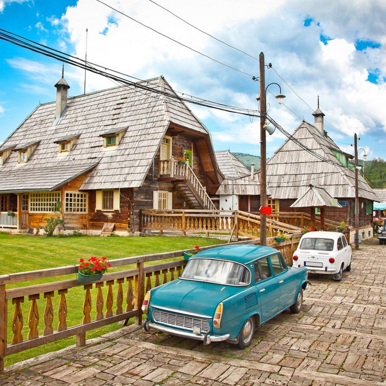 Drvengrad: A Traditional Serbian Village That's Actually A Movie Set