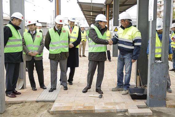 Remodelación de la estación de Cercanías de Torrejón - noviembre 2014
