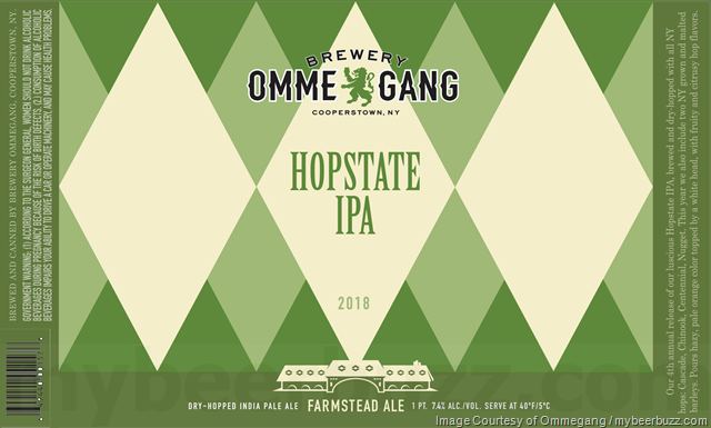 Ommegang Hopstate IPA 2018 Coming To 16oz Cans