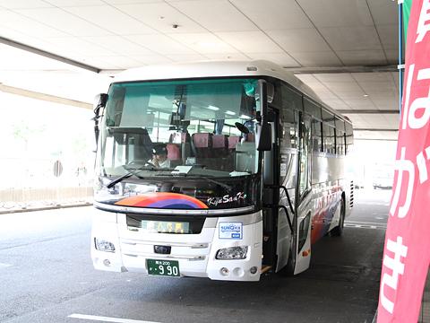 産交バス「B&Sみやざき」 ・990 宮交シティ改札中