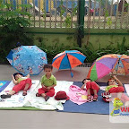 Sun Bathing Activity done by PG - D at Witty World, Chikoowadi (2017-2018)