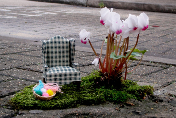 Miniature Pothole Gardens by Steve Wheen