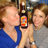 matt & heather, ready for another drinking adventure in Ikebukuro, Tokyo, Japan