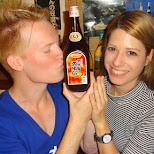 matt & heather, ready for another drinking adventure in Ikebukuro, Tokyo, Japan