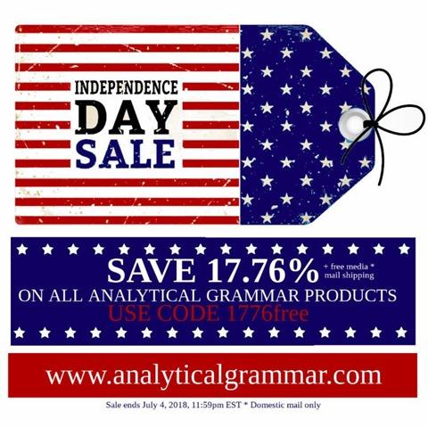 AG Grammar Sale