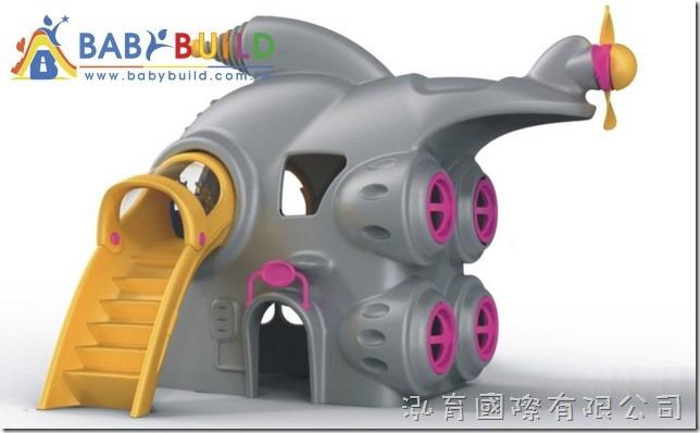 BabyBuild 太空飛艇主題遊具