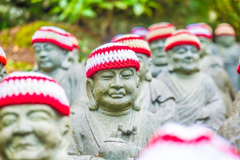 Miyajima Daishoin Temple statues of five hundred of Shaka Nyorai's disciple2