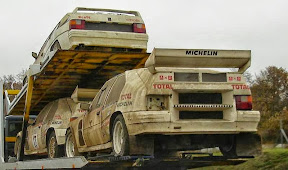 Abandoned Citroen Rally Car
