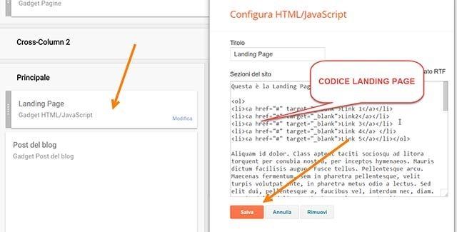 landing-page-blogger-codice